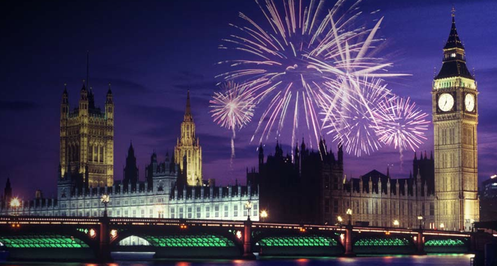 Best Place To Watch The New Years Eve Fireworks In London